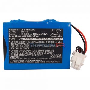 Batterie pour HP PHILIPS MEDICAL CODEMASTER,M1722A,M1723A